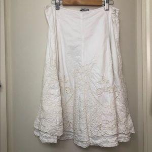 CAbi Floral Skirt